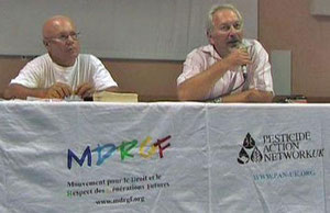 Angelo Sanfilippo et Georges Olivari