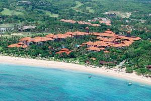 Bali Hilton desde el aire
