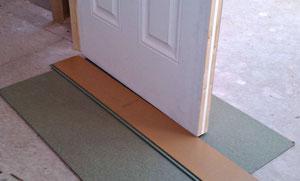 Controleer of je deuren passen over de nieuwe laminaat vloer tipt De Laminaat Expert