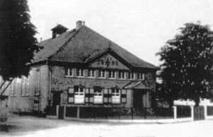Die TV Turnhalle 1952