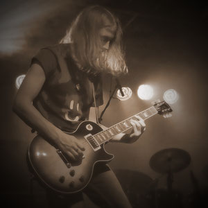 me and my Les Paul - 2011