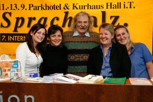 Jack Hirschman war der Liebling des ganzen Parkhotel-Teams 2009