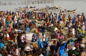 Port de Mbour au Sénégal