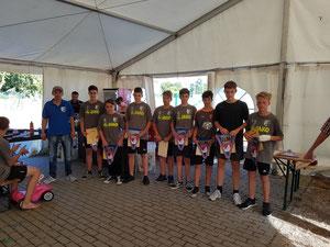 Jugendweiheteilnehmer der SG Klosterdorf 2018