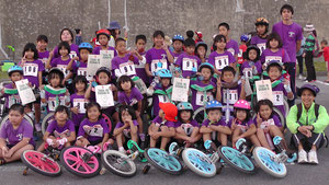 2011年 ツール・ド・おきなわ 一輪車大会にて