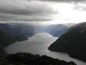 Lysefjord Perspektive Berg