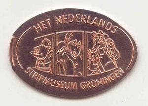 Groningen stripmuseum - motief 1