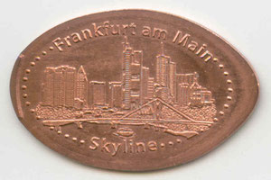 Frankfurt am Main Skyline - motief 1
