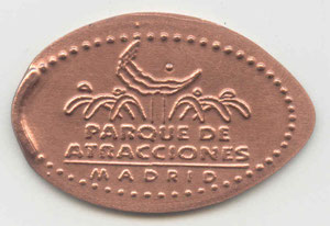 Madrid - Parque de atracciones - motief 1