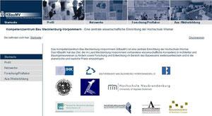 Homepage Komepetenzzentrum M-V