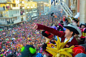 sejour-linguistique-carnaval-Dunkerque-lacher de harengs