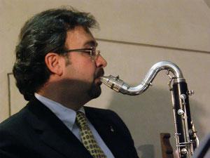 Prof. Marco Pasetto al clarinetto basso