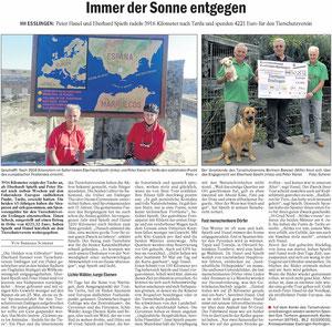Mit freundlicher Unterstützung der Eßlinger Zeitung