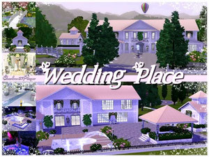 Wedding Place (Lieu de mariage Sims 3)