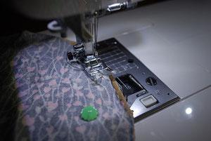 アンコウを縫う
