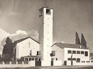 A nossa igreja no ano da sua inauguração em 1934