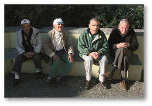 Bewohner des Centro de Apoio social de Pisão, Cascais