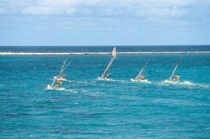 Plage du Morne PDS île Maurice