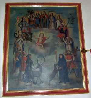 Das Gemälde stammt aus Hainstadt