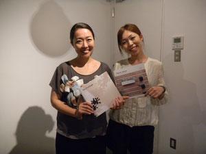 写真左 中村さん   右 金谷さん