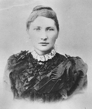 Christine Koch, geborene Wüllner aus Herhagen