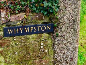 die Tor-Einfahrt zum Anwesen von W. Hympston