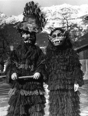 Zottler und Affe, 1974