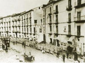 L'antico Corso Sancio, inizio 1900: centro storico, Cuore Pulsante dei Pastifici di Gragnano