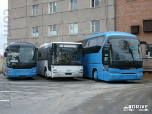 Автобусы MAN и Neoplan