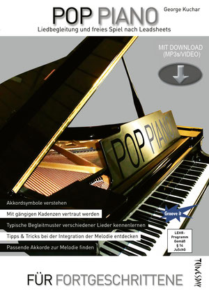 Klavier-Lehrbuch für Fortgeschrittene - zum Vergrößern bitte anklicken !