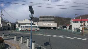 現在の井原バスセンター