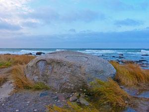 Der Siebenschneiderstein am Kap Arkona