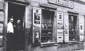 Cafe Brecht um 1919