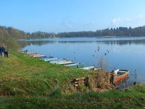 Bootsliegeplätze am Vereinsgewässer Langer See