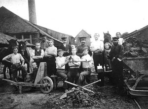 Lippische Ziegler, Oldenburg um 1900
