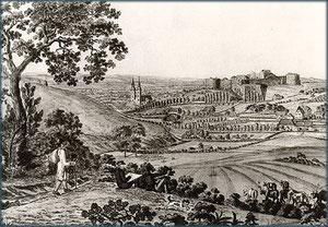 Stadtansicht um 1830