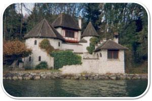 Maison de Jung.La Tour à Bollingen