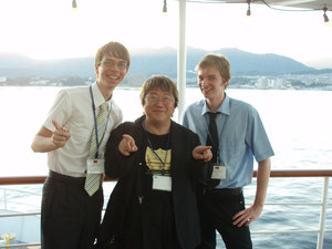海外の青少年との交流!彼らはハノーファーから来日した10代のドイツ人