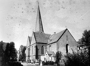 """Die """"Alte Kirche"""" um 1900"""