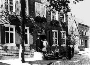 Die Krönig'sche Apotheke in der Münsterstraße
