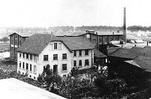 Teilansicht der Firma Miele um 1919