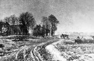 Weg in der Bauerschaft Kattenstroth um 1910