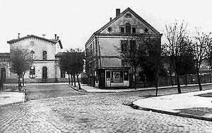 Lumpenhandel Saligmann (rechts), Kökerstraße
