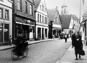 Bürgersteige mittlere Berliner Straße 1933.