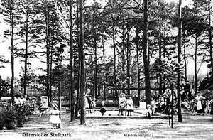 Spielplatz im Gütersloher Stadtpark