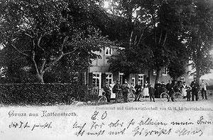 Ausflugslokal und Raststation an Chausseen wie Lütkewinkelmann waren um 1900 beliebte Haltepunkte.