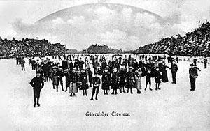 Eiswiese im Sommer 1901/1902