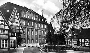 St. Elisabeth-Hospital am Domhof, um 1950