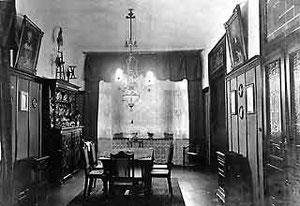 Wohnzimmer mit elekronischer Beleuchtung