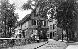 Am alten Kirchplatz um 1910